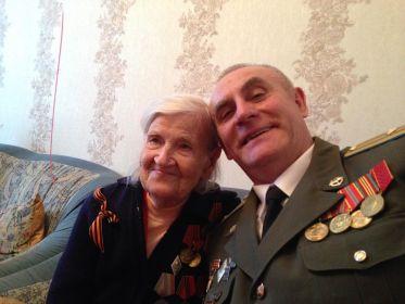 Бабушка и ее любимый племянник.