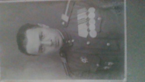 Фотография 1945 года, когда Борису Петровичу было 20 лет