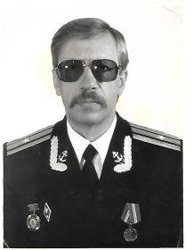 Гусев Сергей младший сын, ликвидатор последствий катастрофы на  ЧАЭС,служил на Северном флоте