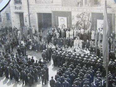 ГДР.Шмалькальден.1952 год.