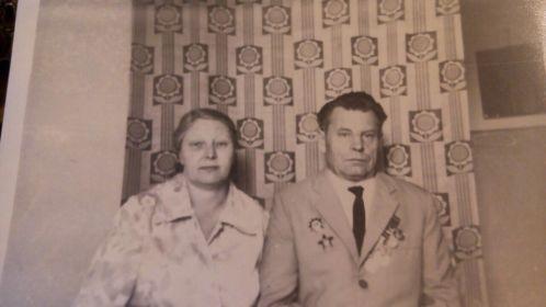 С мужем, Чугреевым Сергеем Николаевичем