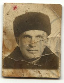 Последнее фото Ильина Валентина Семеновича 1941 год