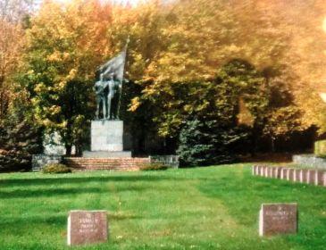 Кладбище в Германии, г. Гера