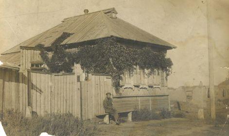 Родительский дом на Самарской улице, фото примерно 1930-х гг