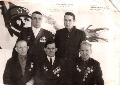Ветераны - фронтовики  деревни Чусовитиной