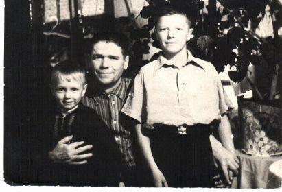 Совместное фото с детьми