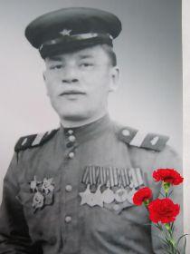 Бахарев Виктор Иванович, в гостях у ветеранов - фронтовиков д. Чусовитиной