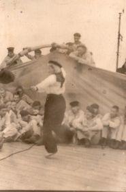 г.Мурманск 17 июня 1945, Шефский концерт на Линкоре