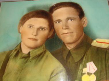 С мужем Косухиным А.З.