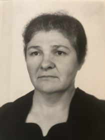 Жена героя , Евдокия Ивановна.