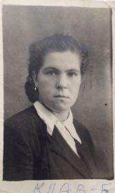 Клавдия Александровна Бурова,родная сестра Николая Александровича Бурова.