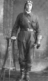 Курсант П.В. Беглов во время учебы в Школе военно-воздушных сил.
