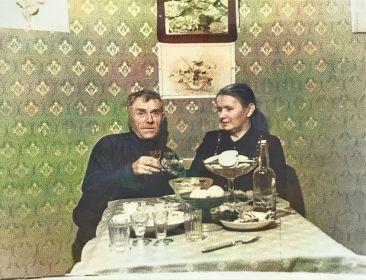 Родители Алексея Кирилловича, Скородумов Кирилл Иванович с супругой (Соболевой) Скородумовой Анной Яковлевной
