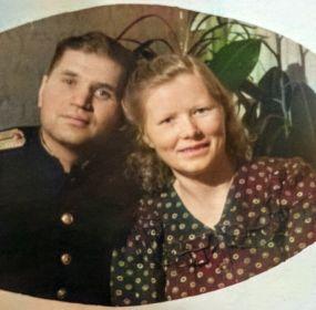 (Скородумова) Солотина Ольга Кирилловна с мужем