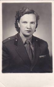 Маланьина Клавдия Николаевна фото после войны