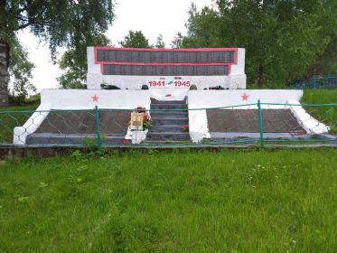 Братская могила в с.Полново Демянского р-на Новгородской области