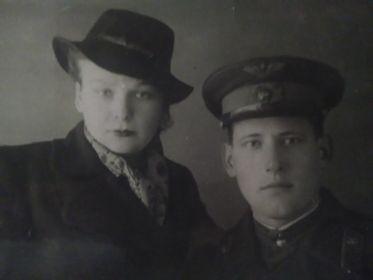 Щелчков А.Г. с женой Щелчковой Е.Д.