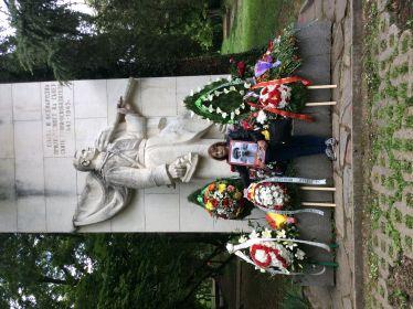 На могиле моего деда в Болгарии г.Стара-Загора