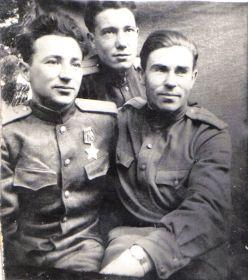Германия-1945- Мыльников Л.А. (справа), Поляков А.Г. (слева) (01)