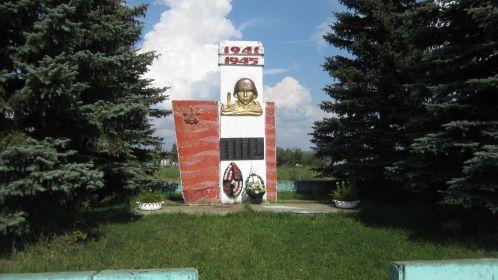 с.Антоново,Спасский р-он,Нижегородская обл. Памятная стела всем погибшим в годы войны