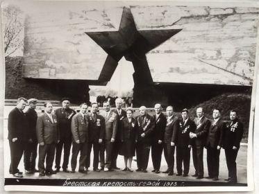 Встреча защитников Бресткой крепости, 1973 г.