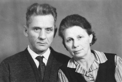 дедушка с бабушкой, Анной Васильевной