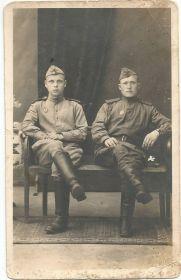 С Ладыгиным Василием(справа) в Венгрии