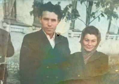 Екатерина Михайловна вместе с мужем Михаилом Ивановичем