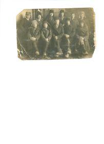 Призывники перед отправкой на фронт. 1941 год. Село Тазино Больше-Березниковский район Мордовсой АССР