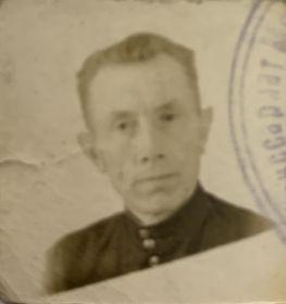Баранов Сергей Семёнович_Фото с военного билета