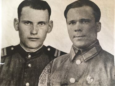 26.05.1946-го Германия встреча после войны с двоюродным братом Гошей