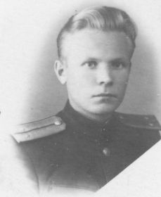 Ижогин А.Г. после войны