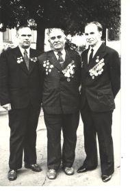 Чудаков А.К. (г.Горький), Искандерьян Н.В. (г.Ереван), Житков А.А. (п.Кожва), 1978г. Донецк
