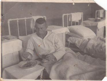 В Костромском военном госпитале 1951 год