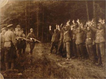Немцы сдаются.