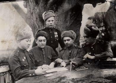 Заседание штаба