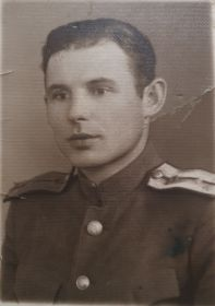 Цаплин Иван Павлович, 1945 г., Румыния