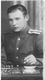 Цаплин Иван Павлович в марте 1945 года в Румынии