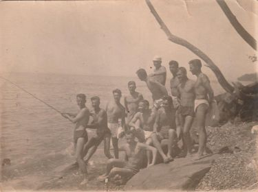 Сочи санаторий, 1941г.
