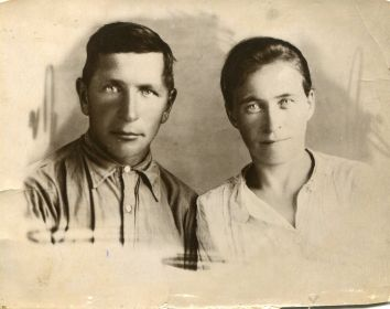 Панов Василий Миронович с супругой Пановой Анной Андреевной
