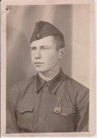 фото Макеева Виталия Фёдоровича солдата срочной службы 1937-1940 гг.