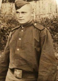 Фролков Михаил Андреевич - труженик тыла, шахтер.