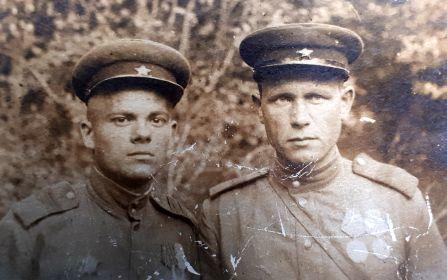 Мой дедушка и его однополчанин Лаврентий, Румыния 1945 год