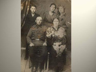 Алехин Иван Иванович и его семья