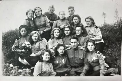 После окончания войны, город Варшава 1945 год, 767 ЗАП