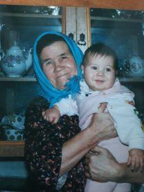 Лидия Ивановна с внуком