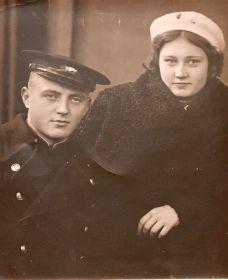 Юрин Н.И. с женой Юриной В.Н.