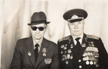 Гоков Иван Антонович (1924-2004 гг.) и Гоков Филип Антонович (1919-1993 гг.)
