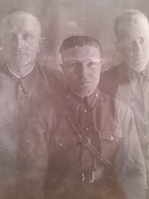 Епифанов Н.А. с сослуживцами