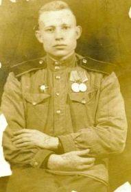 Петр Смирнов. 7.02.1946. Германия